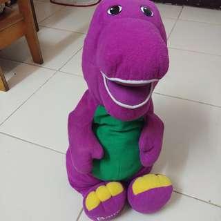 Jumbo Barney stuff toy