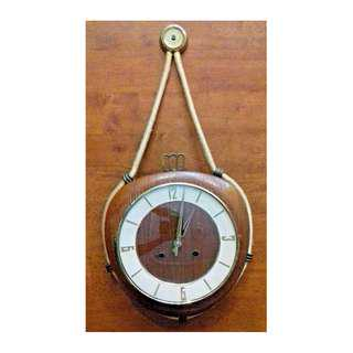 1900's VINTAGE RARE NAUTICAL KIENZLE WALL CLOCK WITH CHIME