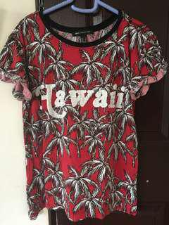 Mango tree design shirt