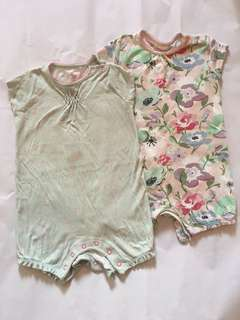 NEXT Floral Rompers