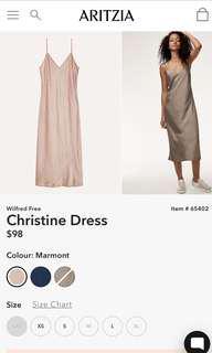 Aritzia Christine dress