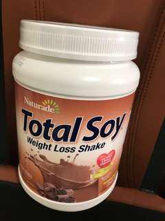 美國直送 全新 Naturade Total Soy Meal Replacement 大豆營養代餐(540g) 巧克力味