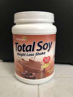 剛到貨 美國直送 全新 Naturade Total Soy Meal Replacement 大豆營養代餐(540g) 巧克力味