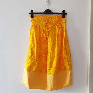 Mango Summer Tube Dress