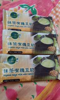 抹茶有機豆奶 沖粉3包