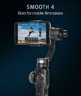 Smartphone Gimbal Stabilizer Holder Travel Video Recording Smooth 4 3-Axis Handheld Gimbal