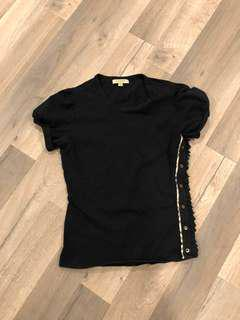 Burberry Black T shirt top size small