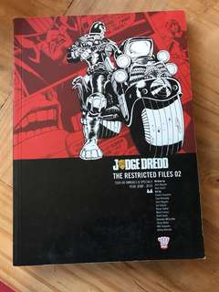 Judge dredd restricted files 02 2000 AD