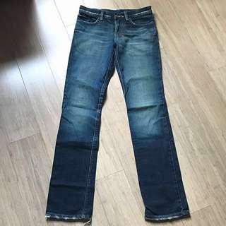 """Tsubi (original pre-Ksubi) """"dirty vintage indigo skinnie minnie"""" jeans"""