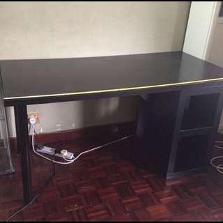 IKEA big writing table #mcshome