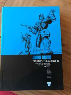 Judge dredd complete case files 08, 2000 AD