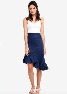 Mds collection denim skirt