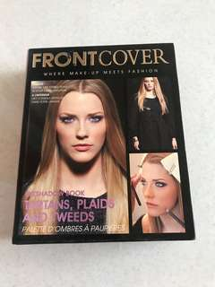 Front cover usa eyeshadow pallete