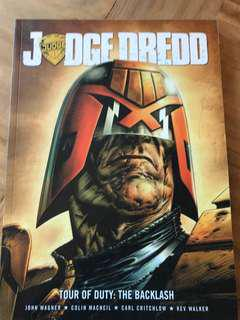 Judge dredd tour of duty the backlash