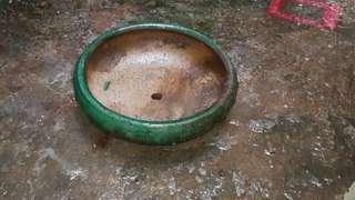 舊石灣窯花盤