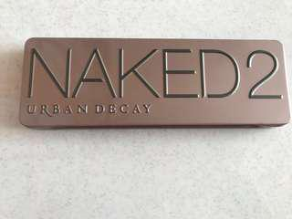 Naked 2 eyeshadow pallete