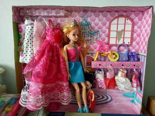 Barbie Inspired Toy Set