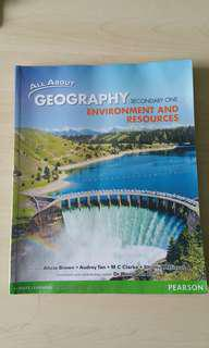All About Geography Secondary One: Environment and Resources