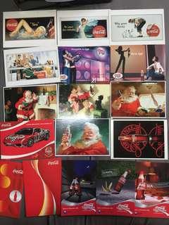 Postcard : Coca Cola coke promo card