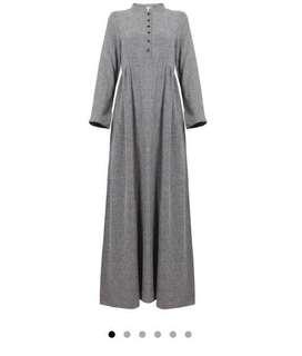Poplook Curve Maternity - Kaia Nursing Princess Panel Dress