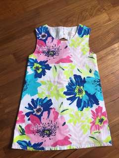 Colorful dress with flowers