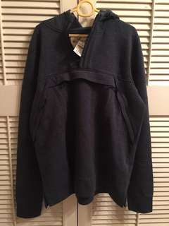 HOLLISTER navy hoodie / size XL
