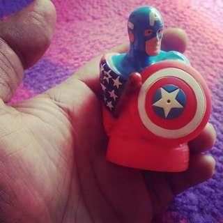 Captain America vintage toys