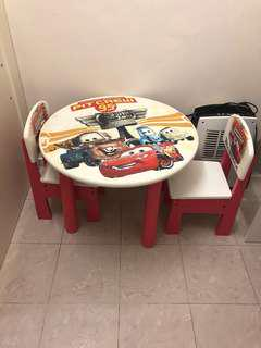 Mcqueen table and chair set Original