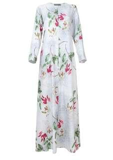 Poplook Curve Devika Exclusive Print Jubah Dress
