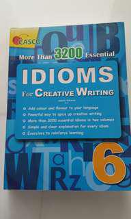 Idioms For Creative Writing