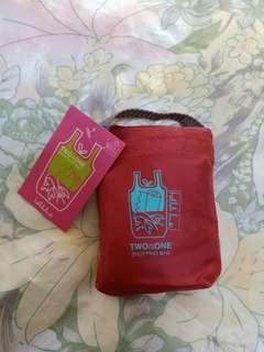Brand New Hellolulu TWOisONE Shopping tote