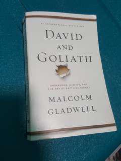 David And Goliath by Malcom Gladwell