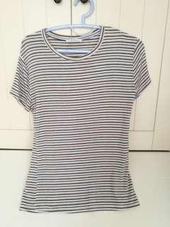 Zara stripey top