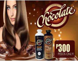 Chocolate Kearatin Conditioner and Shampoo