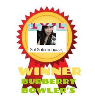 August 2018 Winner