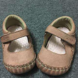 Clarks First Shoes baby girl