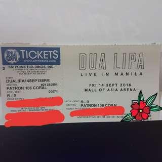DUA LIPA LIVE IN MANILA
