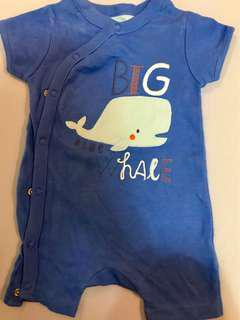 Mothercare baby boy rompers