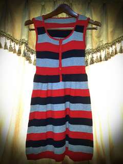 Mini Dress Stripes Cantik Size S #Septemberceria #sale