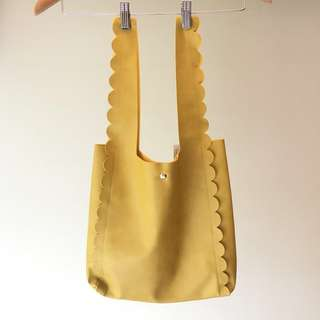 全新日本Ray Cassin黃色皮袋