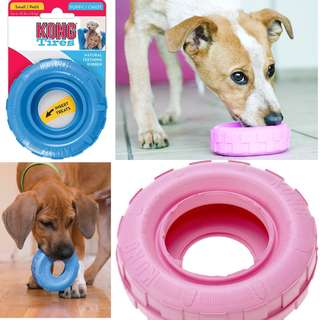 USA MADE BN Kong Puppy Tires Small Pink or Blue