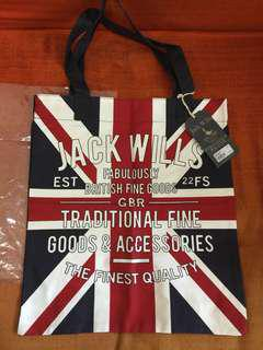 🇬🇧 Jack Wills Tote Bag 🆕