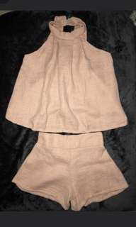 BkK tweed Terno