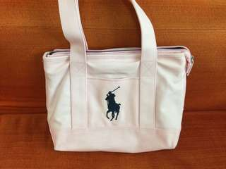 Polo Tote Bag 粉紅色