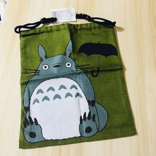 Totoro Pullstring Accessories Pouch