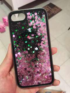 ✈️Case Iphone 7 hati sparkling softcase
