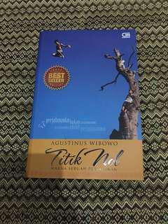 Novel Agus Wibowo - Titik Nol, Makna sebuah perjalanan -