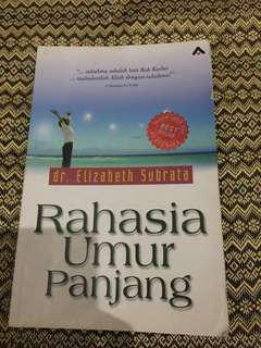 Buku Rahasia Umur Panjang- dr Elisabeth Subrata