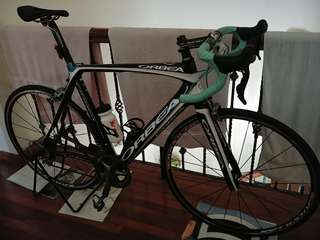 Selling beautiful Orbea Orca Gold size 57. Almost full bike (no saddle)