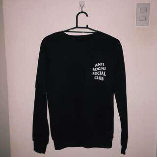 Anti Social Social Club Black Sweater